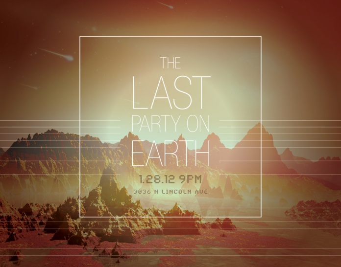 Last Party on Earth Fundraiser